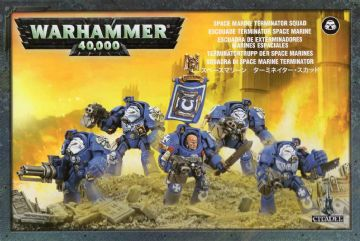Games Workshop Warhammer 40000 40K Space Marine Terminator Squad 48-10